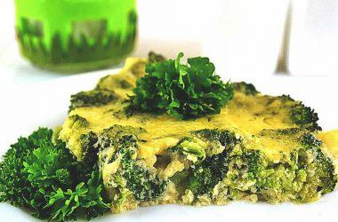 Вкусный рецепт приготовления брокколи с сыром в духовке.
