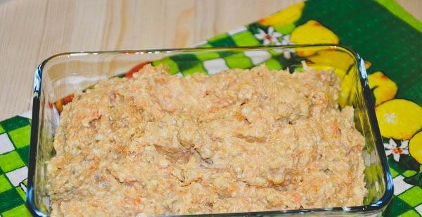 простой в приготовлении рецепт рыбного паштета.