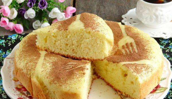 Как приготовить бисквит на сковородке, без духовки.