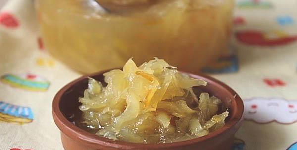 Рецепт имбирного варенья с лимоном.