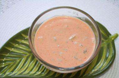 Рецепт соуса Тысяча островов.