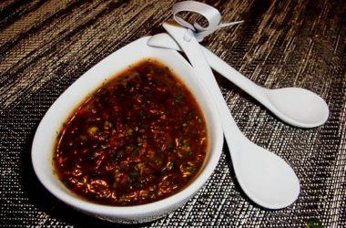 Рецепт простого соуса для рыбы в домашних условиях.