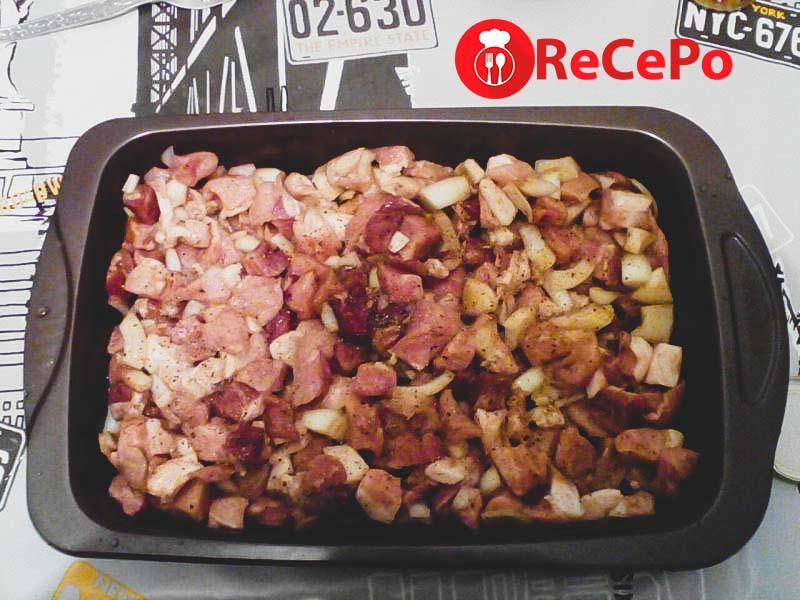 Вкусный рецепт приготовления свинины под сыром.