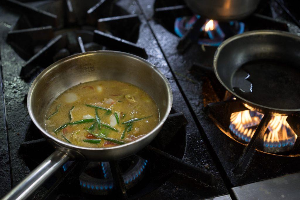 Вкусный Тайский суп Том Ям.