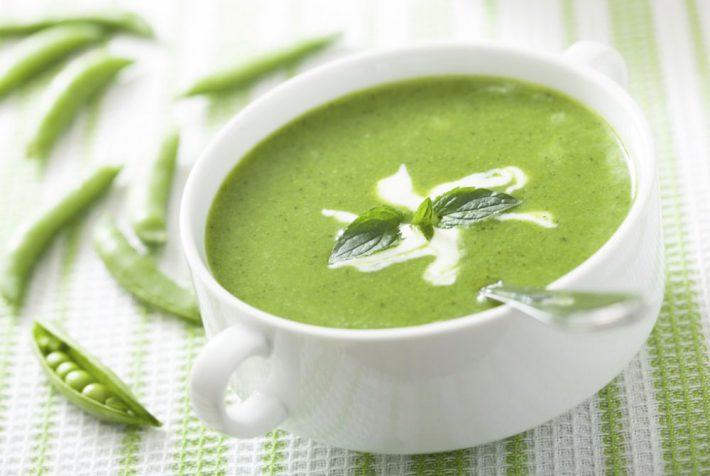 Рецепт супа пюре из зеленого горошка