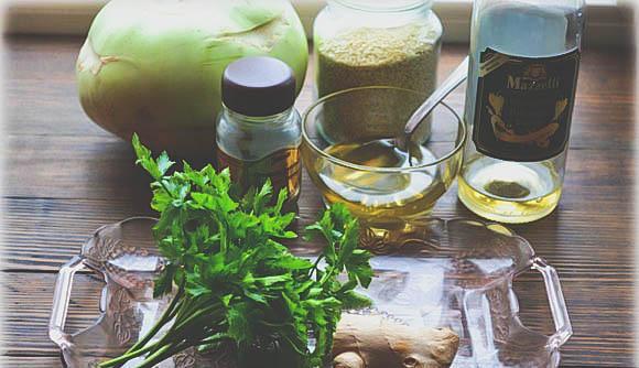 Как приготовить салат из кольраби в домашних условиях?