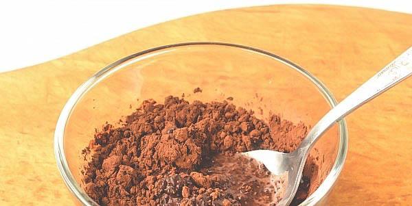 Вкусное домашнее желе с какао.