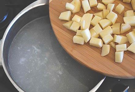 Вкусный грибной суп из свежих опят.