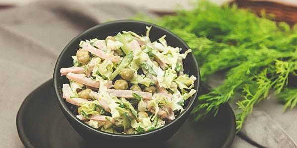 Как приготовить в домашних условиях салат из капусты и мяса?