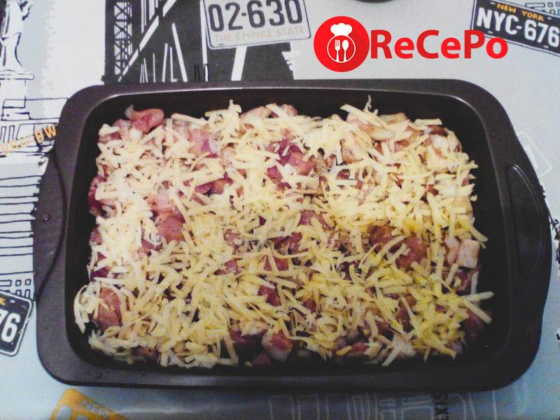 Простой рецепт приготовления свинины в духовке.