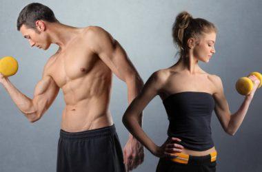 Набор мышечной массы для мужчин и женщин: программа питания, базовые упражнения.
